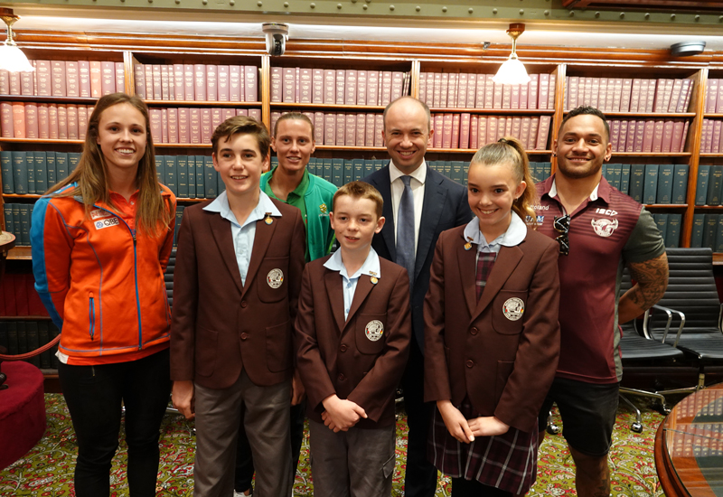 Matilda's Star Visits Parliament House